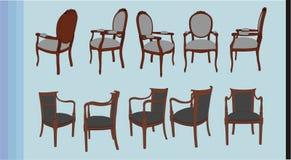 De vector van de stoel Royalty-vrije Stock Fotografie