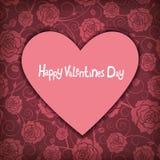 De vector van de valentijnskaartendag Stock Afbeelding