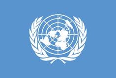 De Vector van de Vlag van de Verenigde Naties Royalty-vrije Stock Fotografie