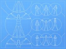 De Vector van de vrouwengeschiktheid royalty-vrije illustratie