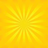 De vector van de zonnestraal Royalty-vrije Stock Fotografie