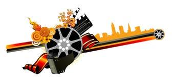 De vector van films Royalty-vrije Stock Afbeeldingen