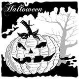 De Vector van Halloween Royalty-vrije Stock Afbeelding