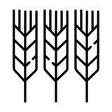 De vector van het aarpictogram stock illustratie