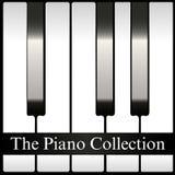 De vector van de het albumdekking van de Pianoinzameling Royalty-vrije Stock Fotografie