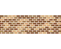 De vector van het bakstenen muurpictogram royalty-vrije illustratie