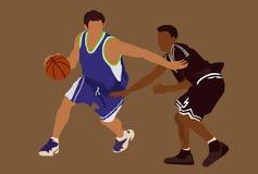 De vector van het basketbal Stock Afbeelding