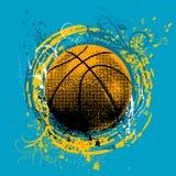 De vector van het basketbal royalty-vrije illustratie