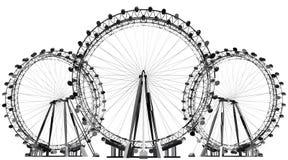 De Vector van het carrouselgebied Stock Foto