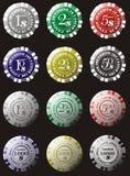 De vector van het casino Royalty-vrije Stock Afbeeldingen