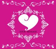 De vector van het de kaartmalplaatje van de huwelijksuitnodiging Royalty-vrije Stock Afbeeldingen
