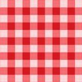 De vector van het de picknicktafelkleed van het patroon Stock Afbeelding