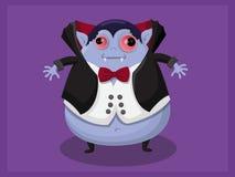 De vector van het Draculabeeldverhaal Stock Foto's