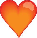 De vector van het hart Stock Fotografie