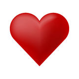 De Vector van het hartpictogram Royalty-vrije Stock Fotografie
