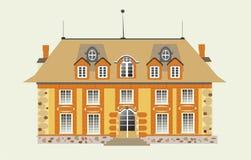 De vector van het huis Stock Foto