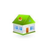 De Vector van het huispictogram Stock Foto
