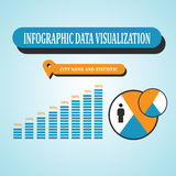 De Vector van het Infographicconcept Stock Fotografie