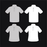 De Vector van het kledingsmalplaatje Stock Foto's