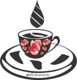 De vector van het koffieontwerp backgroung stock illustratie
