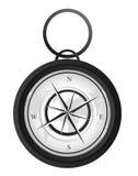 De vector van het kompas Stock Afbeelding