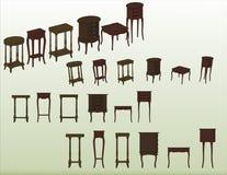 De vector van het meubilair Royalty-vrije Stock Afbeeldingen
