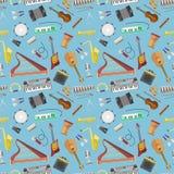 De vector van het muziekpatroon Royalty-vrije Stock Foto's