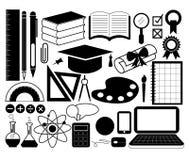 De Vector van het onderwijspictogram Stock Foto's