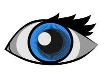 De vector van het oog Royalty-vrije Stock Afbeeldingen