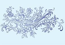 De vector van het ornament Stock Foto