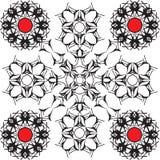 De vector van het patroon Royalty-vrije Stock Afbeelding