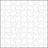 De vector van het raadsel Stock Foto's
