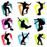De vector van het skateboard Stock Fotografie