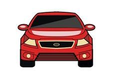 De vector van het sportwagenontwerp royalty-vrije illustratie