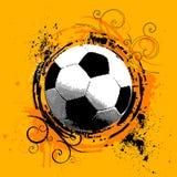 De vector van het voetbal Stock Fotografie