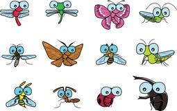 De vector van insecten Stock Afbeelding