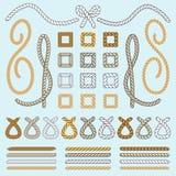 De vector van kabelborstels Royalty-vrije Stock Afbeeldingen