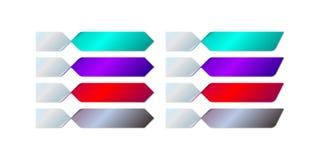 De vector van knoopinfographics Stock Foto