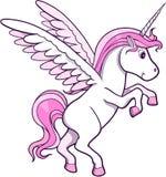 De Vector van Pegasus van de eenhoorn Stock Fotografie
