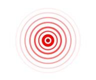 De vector van de pijncirkel stock illustratie