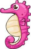 De vector van Seahorse van de illustratie Stock Afbeelding