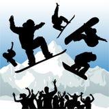 De vector van Snowboard stock illustratie