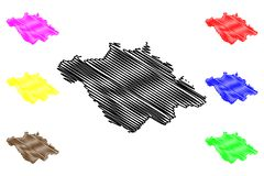 De vector van de Tlaxcalakaart royalty-vrije illustratie