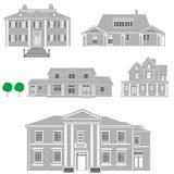 De vector van woonplaatsen Royalty-vrije Stock Fotografie