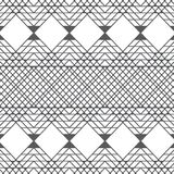 De vector vierkante geometrische achtergrond van het lijnenpatroon met kleurengrijs Royalty-vrije Stock Afbeeldingen
