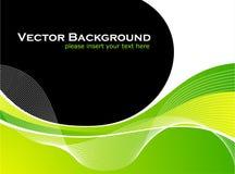 De vectorachtergrond van Abstarct met wit golfpatroon Stock Foto