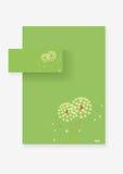 De vectorachtergrond van de bloem Stock Afbeelding