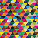 De vectorachtergrond van de kleurendriehoek Royalty-vrije Stock Afbeeldingen