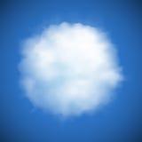 De vectorachtergrond van de wolk Stock Foto