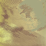 De VectorAchtergrond van Grunge in Warme Kleuren Stock Foto's